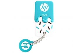 PEN DRIVE MINI HP USB 2.0 V178P 32GB BLUE HPFD178P-32