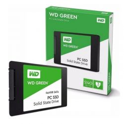 """SSD WD GREEN 240GB Sata 3 - 2.5"""" 7mm"""